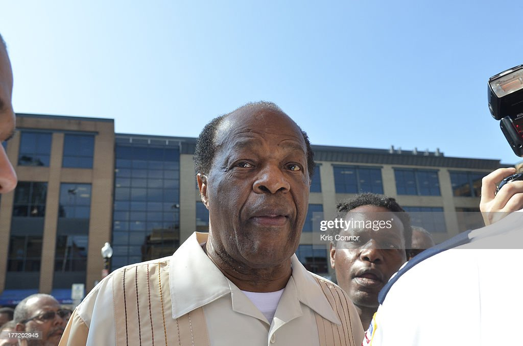 Marion Barry attends the 55th Anniversary of Ben's Chili Bowl on August 22, 2013 in Washington, DC.