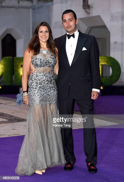 Marion Bartoli attends the Wimbledon Champions Dinner at The Guildhall on July 12 2015 in London England