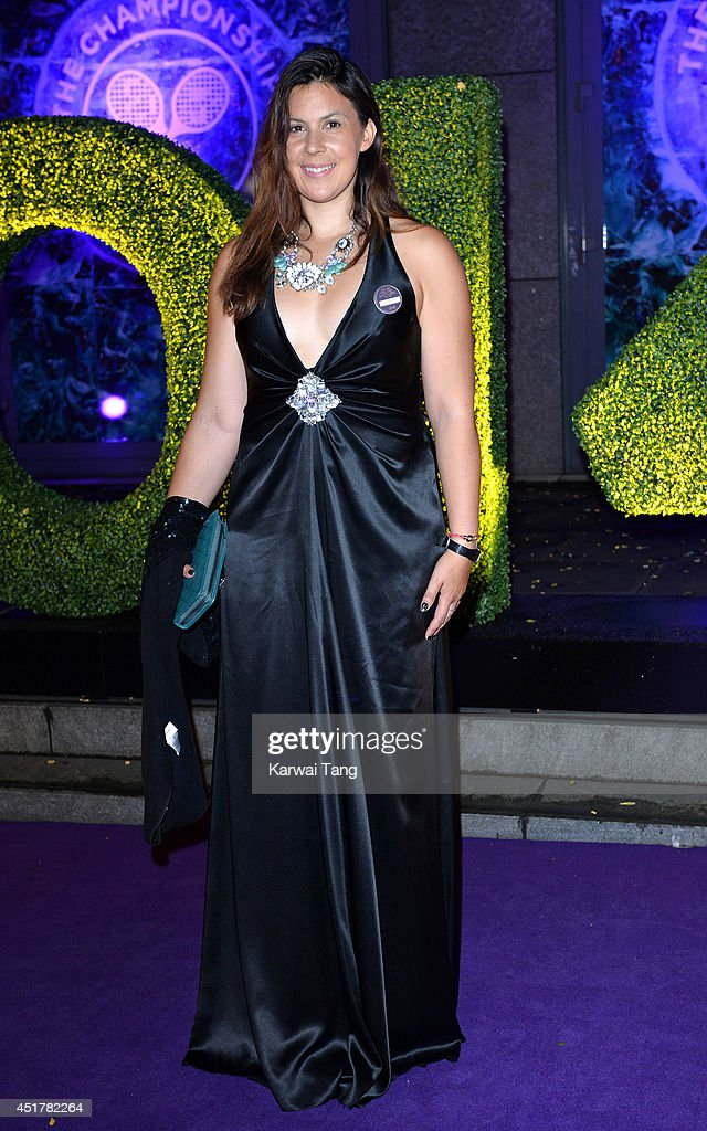 <a gi-track='captionPersonalityLinkClicked' href=/galleries/search?phrase=Marion+Bartoli&family=editorial&specificpeople=227896 ng-click='$event.stopPropagation()'>Marion Bartoli</a> attends the Wimbledon Champions Dinner at the Royal Opera House on July 6, 2014 in London, England.