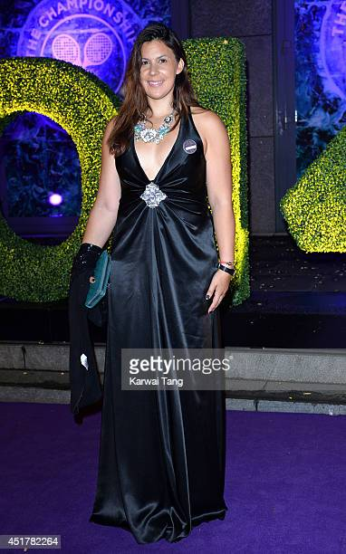Marion Bartoli attends the Wimbledon Champions Dinner at the Royal Opera House on July 6 2014 in London England