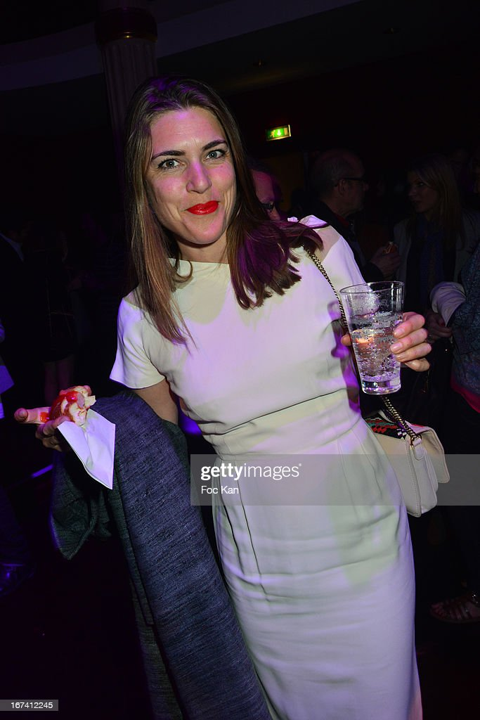 Marion Boucard attends the Villa Schweppes Launch Party For Cannes Film Festival 2013 At Salle Wagram on April 24, 2013 in Paris, France.