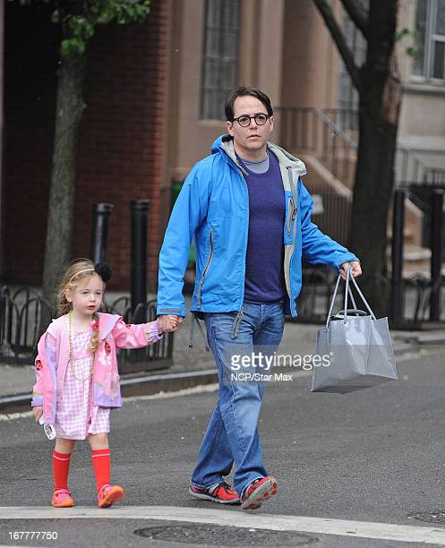 Marion Broderick and Matthew Broderick as seen on April 29 2013 in New York City