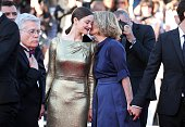CANNES FRANCE MAY 15 Marion Cotillard and director Nicole Garcia attend the 'From The Land Of The Moon ' premiere during the 69th annual Cannes Film...