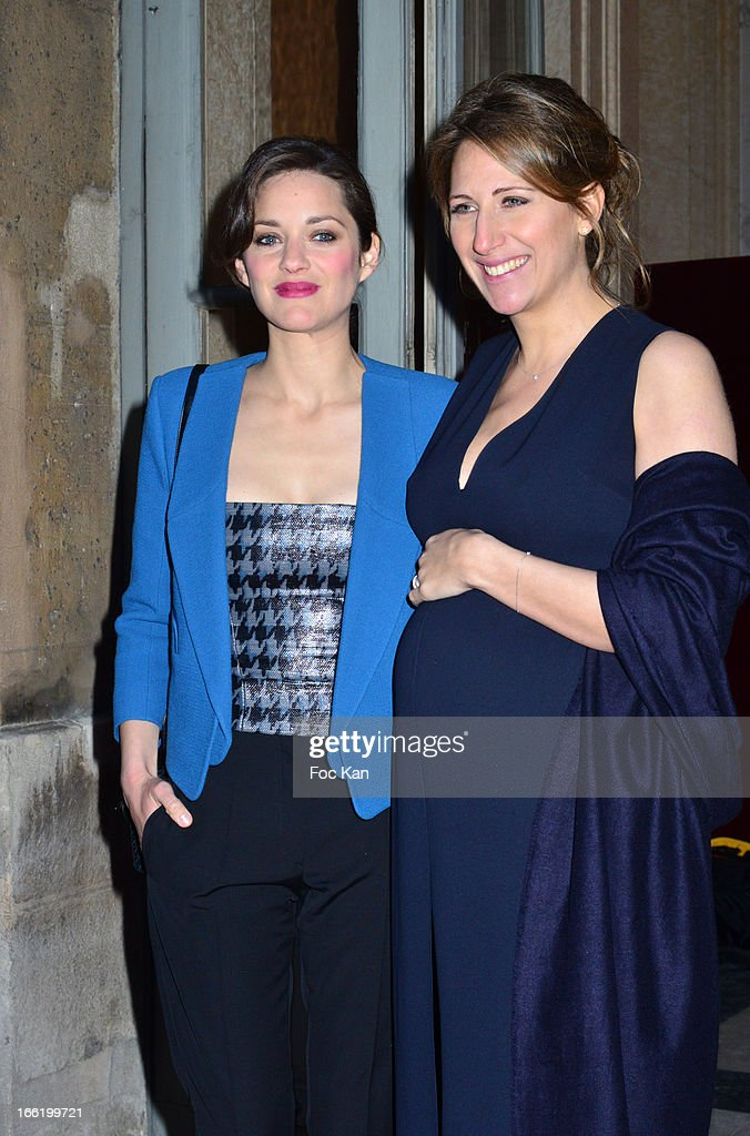<a gi-track='captionPersonalityLinkClicked' href=/galleries/search?phrase=Marion+Cotillard&family=editorial&specificpeople=215303 ng-click='$event.stopPropagation()'>Marion Cotillard</a> and <a gi-track='captionPersonalityLinkClicked' href=/galleries/search?phrase=Maud+Fontenoy&family=editorial&specificpeople=686588 ng-click='$event.stopPropagation()'>Maud Fontenoy</a> attend the <a gi-track='captionPersonalityLinkClicked' href=/galleries/search?phrase=Maud+Fontenoy&family=editorial&specificpeople=686588 ng-click='$event.stopPropagation()'>Maud Fontenoy</a> Foundation - Annual Gala Arrivals at Hotel de la Marine on April 9, 2013 in Paris, France.