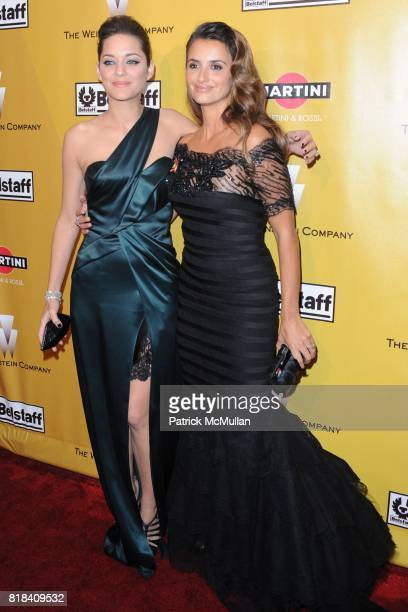 Marion Cotillard and Penelope Cruz attend THE WEINSTEN COMPANY Golden Globes After Party at Bar 210 on January 17 2010 in Beverly Hills California