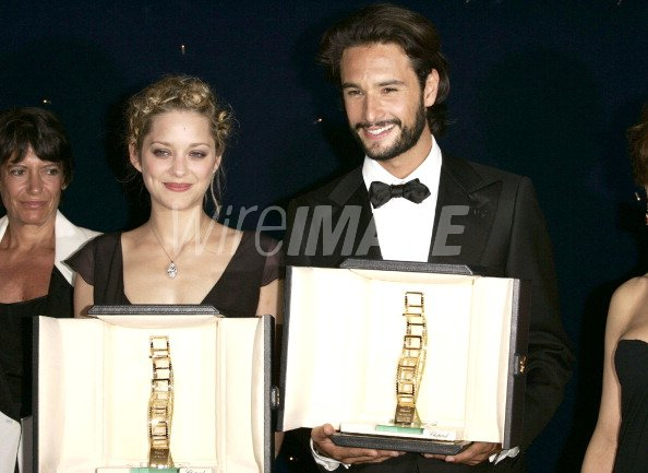 Marion Cotillard and Rodrigo Santoro...