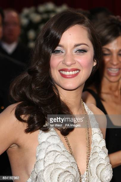 Marion Cotillard arrives for the 80th Academy Awards at the Kodak Theatre Los Angeles