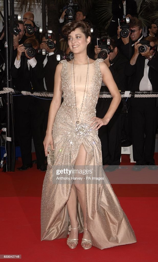 Marion Cotillard arrives for the screening of 'We Own The Night' during the 60th annual Cannes Film Festival in Cannes, France. Picture date: Thursday 24 May 2007. Photo credit should read: Anthony Harvey/PA Wire