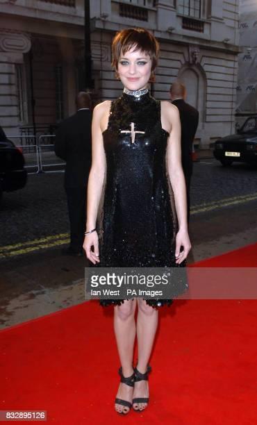 Marion Cotillard arrives for the UK film premiere of La Vie En Rose at the Curzon Mayfair in central London