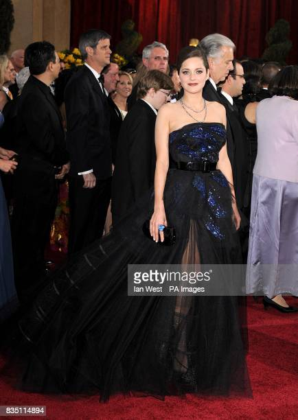 Marion Cotillard arriving for the 81st Academy Awards at the Kodak Theatre Los Angeles