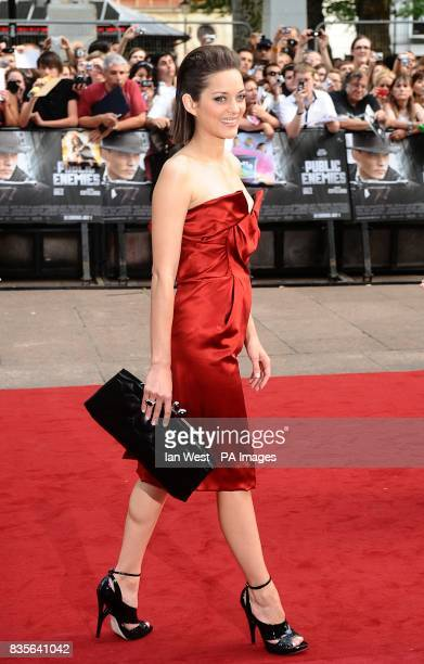 Marion Cotillard arriving for the European premiere of Public Enemies at the Empire Leicester Square London