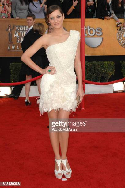 Marion Cotillard attends 16th Annual Screen Actors Guild Awards Arrivals at Shrine Auditorium on January 23 2010 in Los Angeles California