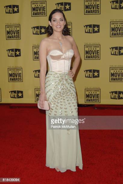 Marion Cotillard attends 2010 Critics Choice Awards at The Palladium on January 15 2010 in Hollywood California