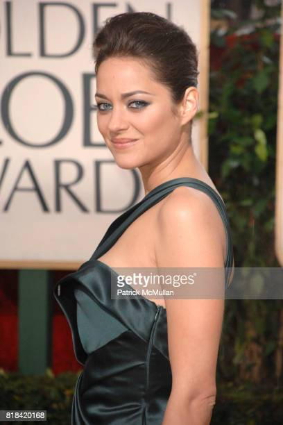 Marion Cotillard attends 67th Annual Golden Globe Awards at Beverly Hilton Hotel on January 17 2010 in Beverly Hills California