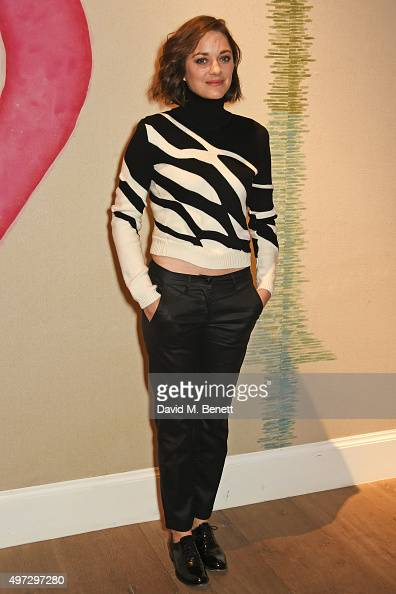Marion Cotillard attends a special screening of 'Macbeth' at the Ham Yard Hotel on November 15 2015 in London England