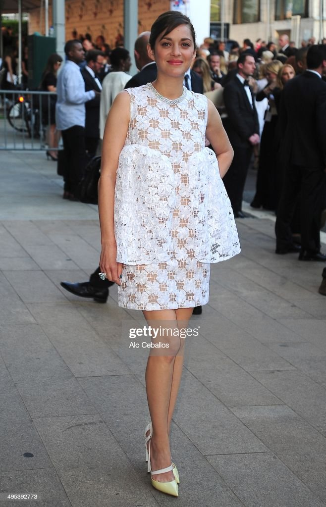 Marion Cotillard attends the 2014 CFDA Fashion Awards>> at Alice Tully Hall, Lincoln Center on June 2, 2014 in New York City.