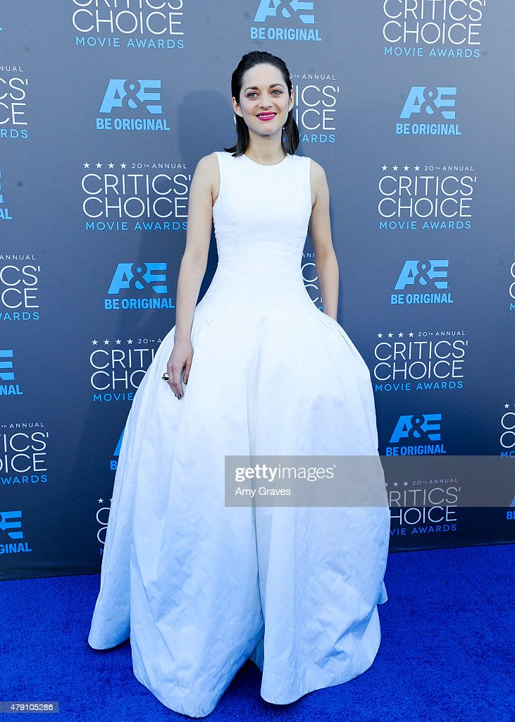 Marion Cotillard attends the 20th Annual Critics' Choice Movie Awards on January 15, 2015 in Los Angeles, California.
