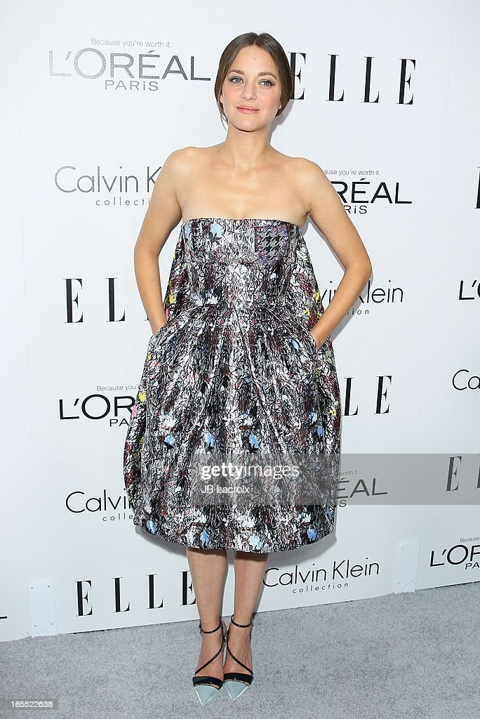 <a gi-track='captionPersonalityLinkClicked' href=/galleries/search?phrase=Marion+Cotillard&family=editorial&specificpeople=215303 ng-click='$event.stopPropagation()'>Marion Cotillard</a> attends the 20th Annual ELLE Women In Hollywood held at Four Seasons Hotel Los Angeles at Beverly Hills on October 21, 2013 in Beverly Hills, California.