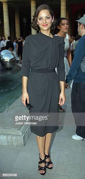 Marion Cotillard attends the 25th edition of 'La fete du cinema' at Ministere de la Culture on June 30 2009 in Paris France