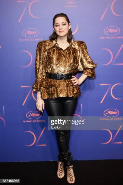 Marion Cotillard attends the 70th Anniversary Dinner during the 70th annual Cannes Film Festival at on May 23 2017 in Cannes France