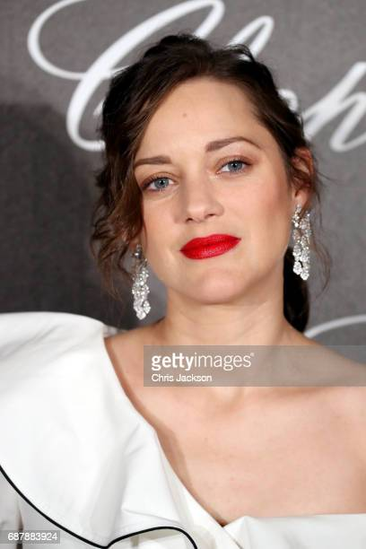 Marion Cotillard attends the Annabel's Chopard Party during the 70th annual Cannes Film Festival at Martinez Hotel on May 24 2017 in Cannes France