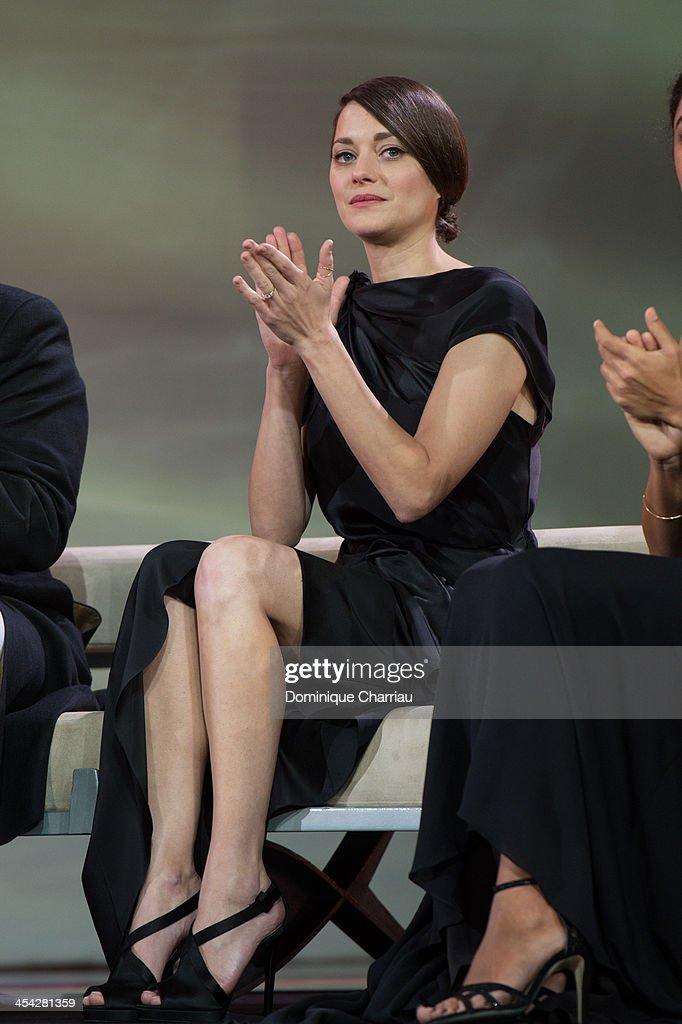 Marion Cotillard attends the award Ceremony 2013' At 13th Marrakech International Film Festival on December 7, 2013 in Marrakech, Morocco.