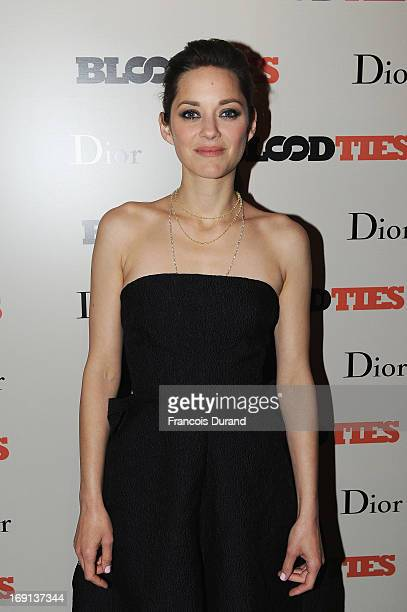 Marion Cotillard attends the 'Blood Ties' cocktail and party hosted by Dior at Club by Albane in Bulgari Rooftop on May 20 2013 in Cannes France