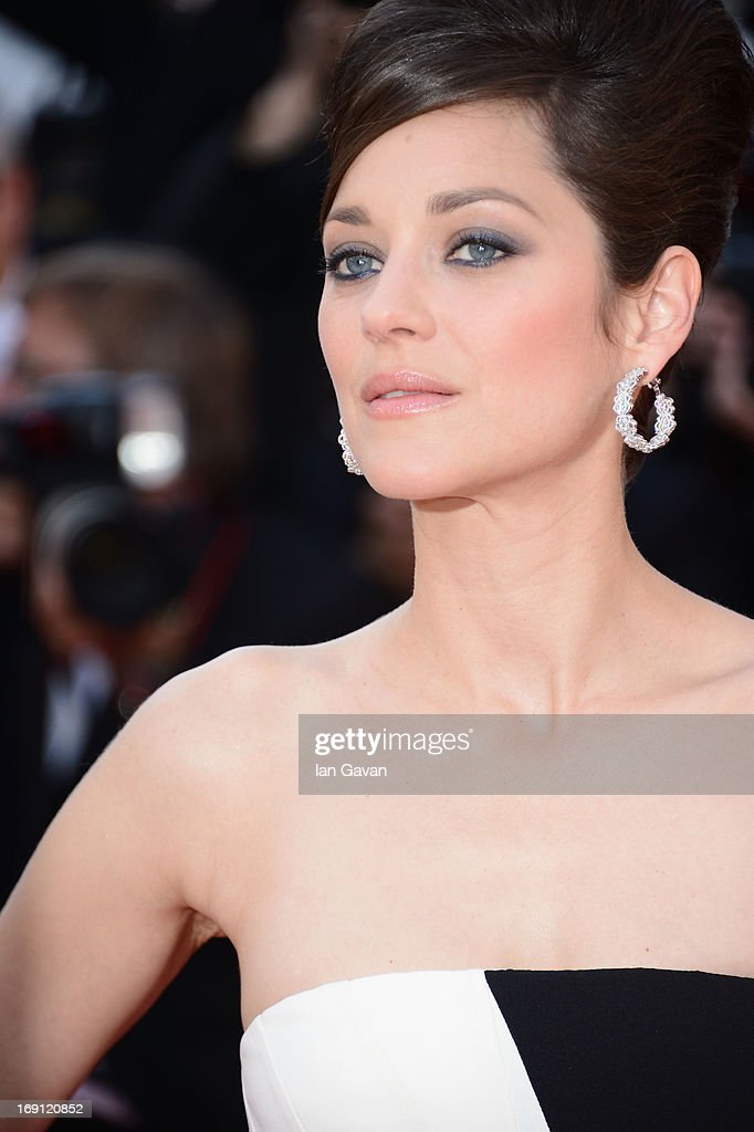 Marion Cotillard attends the 'Blood Ties' Premiere during the 66th Annual Cannes Film Festival at Grand Theatre Lumiere on May 20, 2013 in Cannes, France.