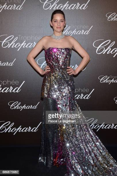 Marion Cotillard attends the Chopard Trophy photocall at Hotel Martinez on May 22 2017 in