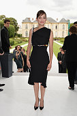 Marion Cotillard attends the Christian Dior show as part of Paris Fashion Week Haute Couture Fall/Winter 20142015 on July 7 2014 in Paris France