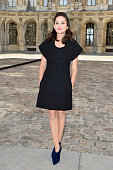 Marion Cotillard attends the Christian Dior show as part of the Paris Fashion Week Womenswear Spring/Summer 2015 on September 26 2014 in Paris France