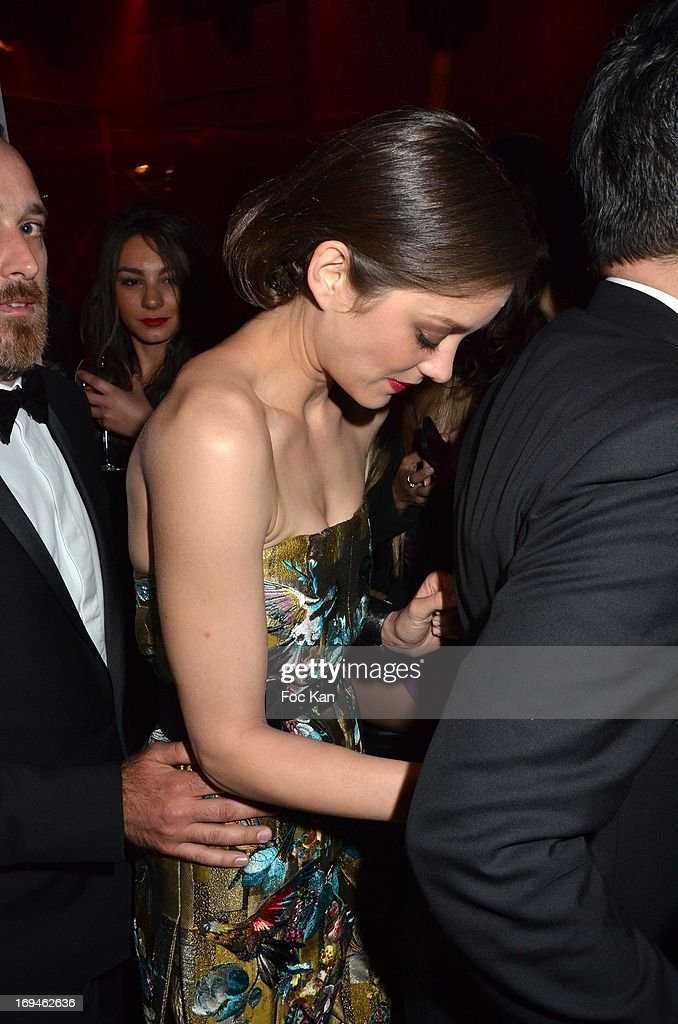 <a gi-track='captionPersonalityLinkClicked' href=/galleries/search?phrase=Marion+Cotillard&family=editorial&specificpeople=215303 ng-click='$event.stopPropagation()'>Marion Cotillard</a> attends The Crash Magazine Cocktail during the Terrazza Martini at The 66th Annual Cannes Film Festival on May 24, 2013 in Cannes, France