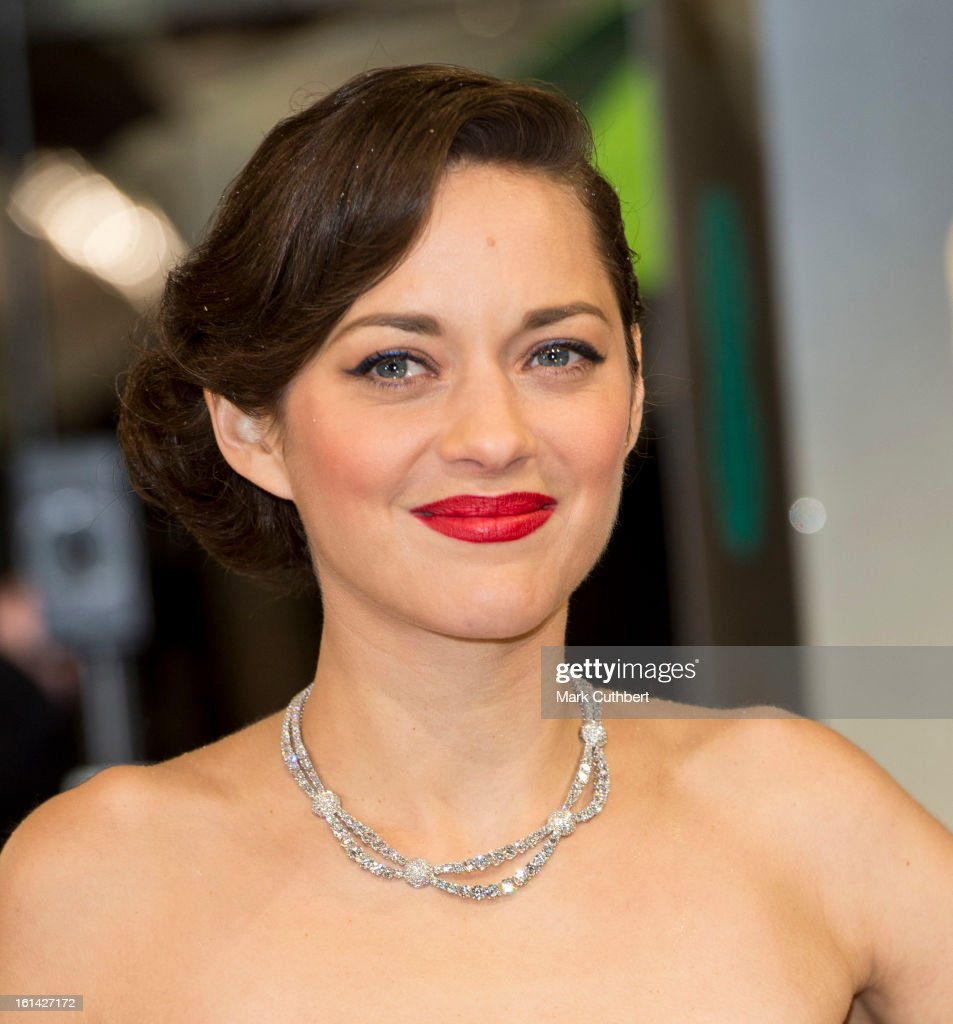 Marion Cotillard attends the EE British Academy Film Awards at The Royal Opera House on February 10, 2013 in London, England.