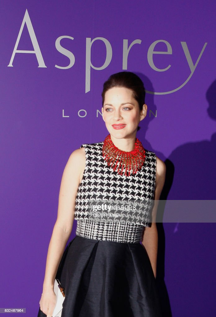 Marion Cotillard attends the EE British Academy Film Awards Nominees Party at London Jewelery Store Asprey on February 9, 30, 2013 in London, England.