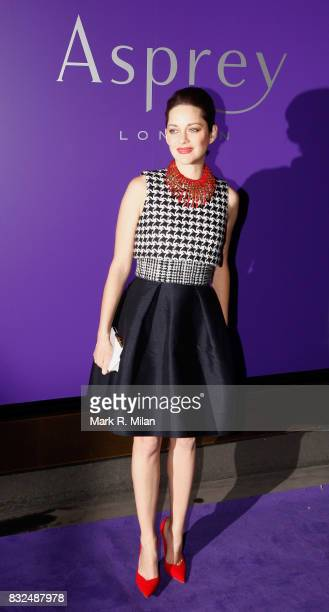 Marion Cotillard attends the EE British Academy Film Awards Nominees Party at London Jewelery Store Asprey on February 9 2013 in London England