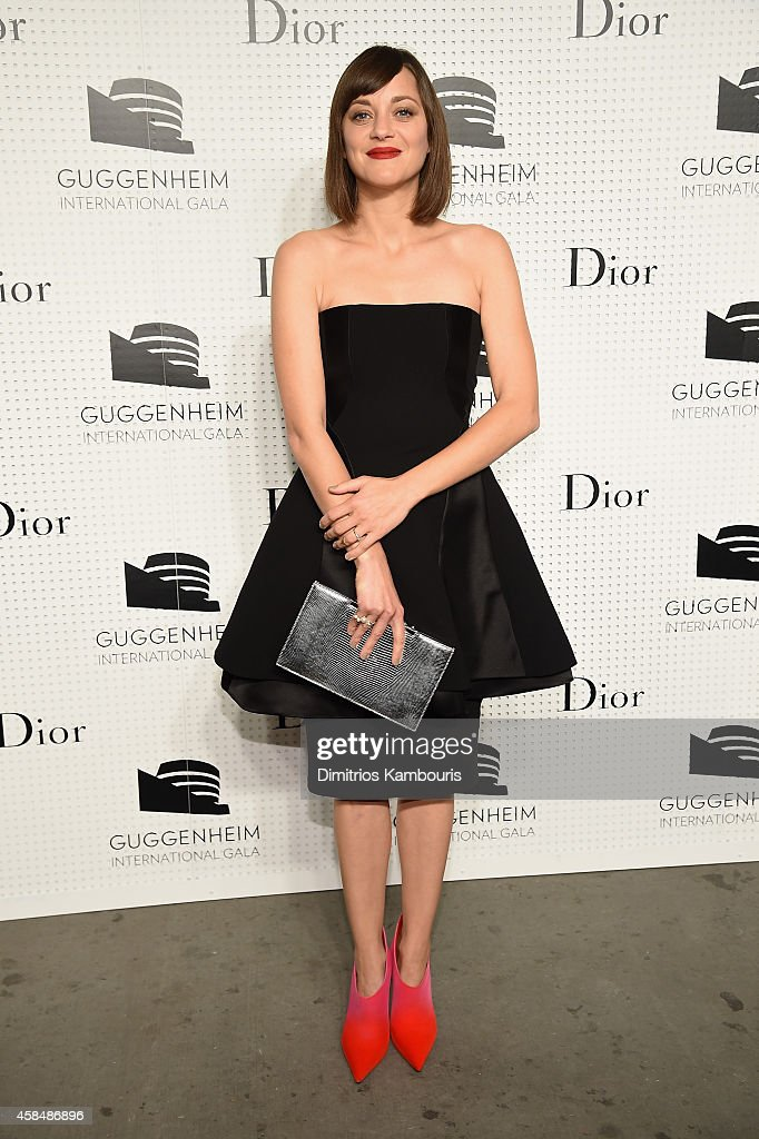 Marion Cotillard attends the Guggenheim International Gala Pre-Party made possible by Dior on November 5, 2014 in New York City.