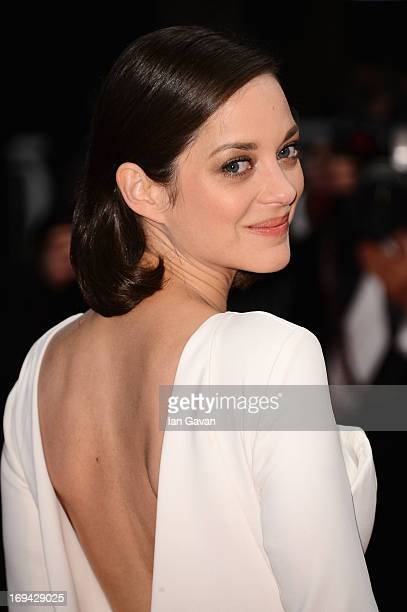 Marion Cotillard attends 'The Immigrant' Premiere during the 66th Annual Cannes Film Festival at Grand Theatre Lumiere on May 24 2013 in Cannes France