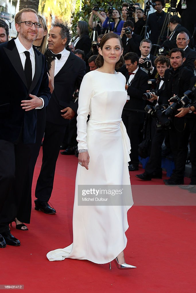 Marion Cotillard attends 'The Immigrant' Premiere during the 66th Annual Cannes Film Festival at Palais des Festivals on May 24, 2013 in Cannes, France.