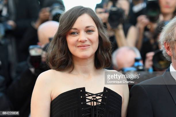Marion Cotillard attends the 'Ismael's Ghosts ' screening and Opening Gala during the 70th annual Cannes Film Festival at Palais des Festivals on May...