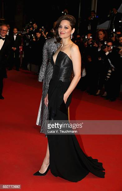 Marion Cotillard attends the 'It's Only The End Of The World ' Premiere during the 69th annual Cannes Film Festival at the Palais des Festivals on...