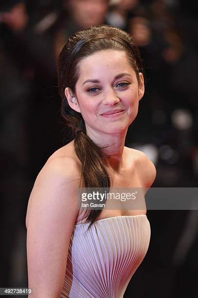 Marion Cotillard attends the 'L'Homme Qu'On Aimait Trop' premiere during the 67th Annual Cannes Film Festival on May 21 2014 in Cannes France