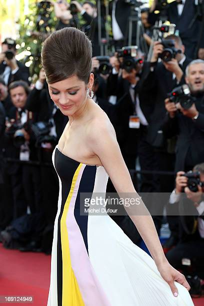 Marion Cotillard attends the premiere for 'Blood Ties' at The 66th Annual Cannes Film Festival on May 20 2013 in Cannes France