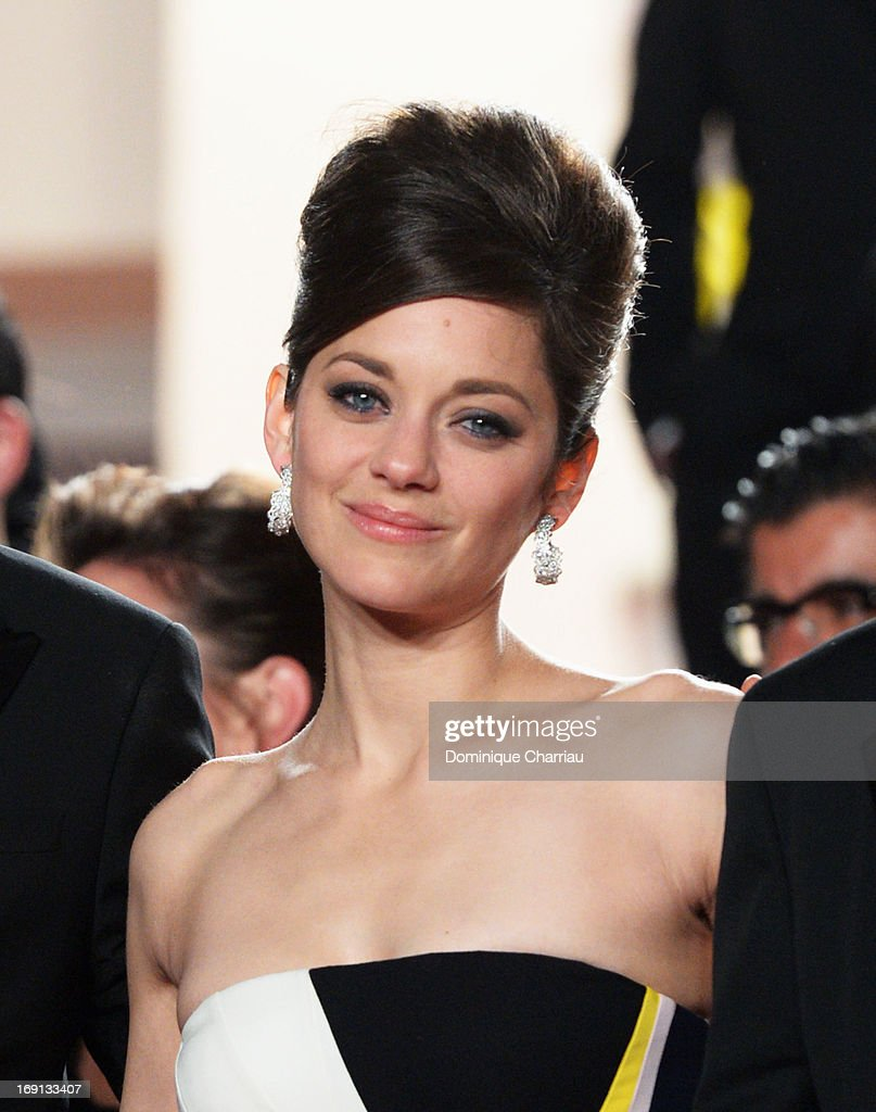 <a gi-track='captionPersonalityLinkClicked' href=/galleries/search?phrase=Marion+Cotillard&family=editorial&specificpeople=215303 ng-click='$event.stopPropagation()'>Marion Cotillard</a> attends the Premiere of 'Blood Ties' during the 66th Annual Cannes Film Festival at the Palais des Festivals on May 20, 2013 in Cannes, France.