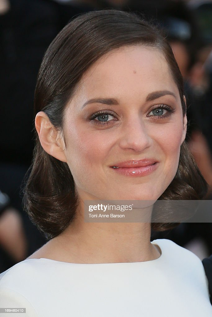 Marion Cotillard attends the premiere of 'The Immigrant' at The 66th Annual Cannes Film Festival on May 24, 2013 in Cannes, France.
