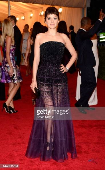 Marion Cotillard attends the 'Schiaparelli And Prada Impossible Conversations' Costume Institute Gala at the Metropolitan Museum of Art on May 7 2012...