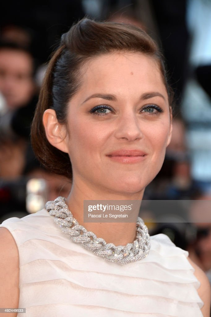 Marion Cotillard attends the 'Two Days, One Night' (Deux Jours, Une Nuit) premiere during the 67th Annual Cannes Film Festival on May 20, 2014 in Cannes, France.