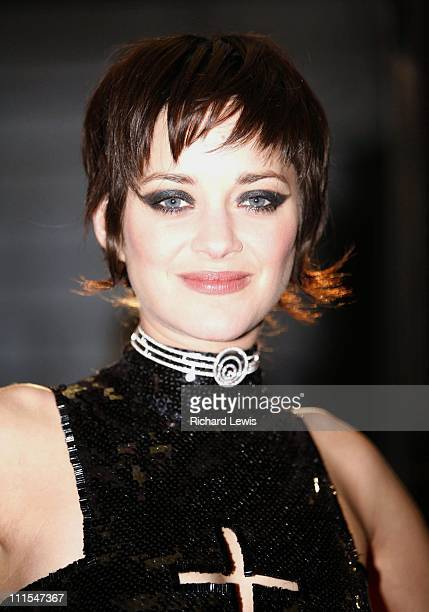 Marion Cotillard during 'La Mome' London Premiere Arrivals at Curzon Mayfair in London Great Britain