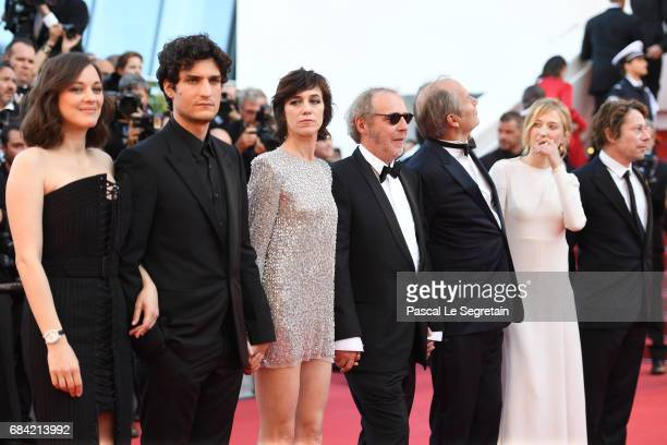 Marion Cotillard Louis Garrel Charlotte Gainsbourg Hippolyte Girardot director Arnaud Desplechin Alba Rohrwacher and Mathieu Amalric attend the...