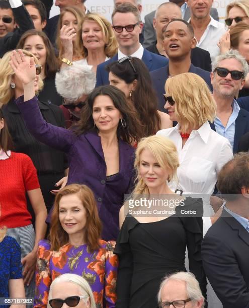 Marion Cotillard Nicolas Winding Refn Charlize Theron Pedro Almodovar Berenice Bejo Juliette Binoche Catherine Deneuve Isabelle Huppert and Nicole...
