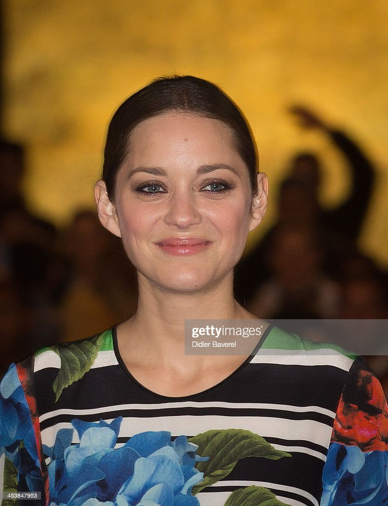 Marion Cotillard presents the Michael Mann film ''Public Enemies' at Jemaa El Fna square at 13th Marrakech International Film Festival on December 5, 2013 in Marrakech, Morocco.